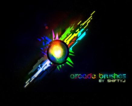 ARCADE ABSTRACT BRUSHES by illustratorcs6