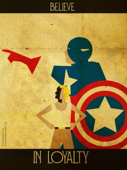 Believe - Captain America by KerrithJohnson