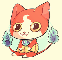 Jibanyan by Cargorabbit