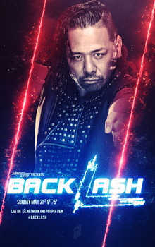WWE Backlash 2017 Custom Poster by AllButSlam