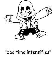 Bad Time Intensifies by Kriztian-Draws