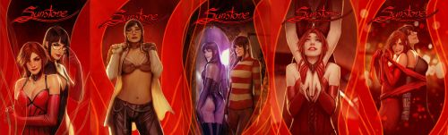 sunstone all 5 covers for first arc by shiniez