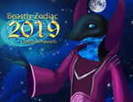 Beastly Zodiac 2019 Calendars Now Available!!! by Ulario