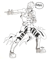 Day 7 Vash the Stampede by atralues