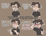 (COMMISSIONS) Drunk Streamer - Twitch Assets by GirlWithTheGreenHat
