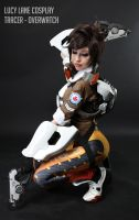 Tracer - Overwatch Cosplay by lulugalaxyone