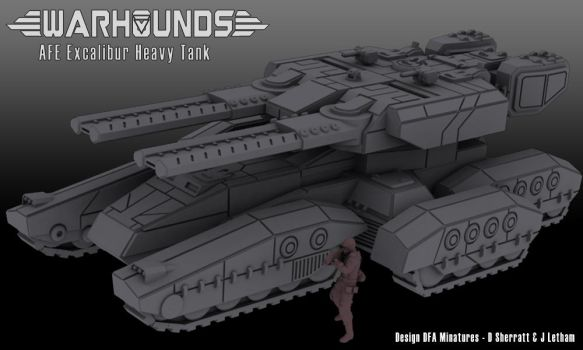 AFE Excalibur Heavy Tank by dsherratt74