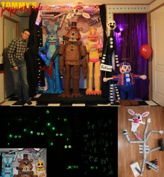 Five Nights at Freddy's 2 Puppets by TommyGK
