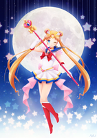 Super Sailor Moon by OzenkaLily