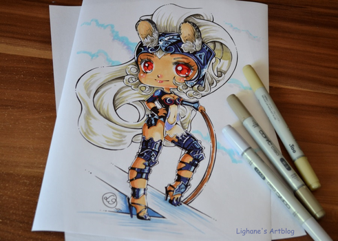 Chibi Fran by Lighane