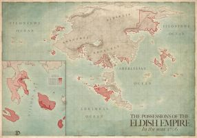 Possessions of the Eldish Empire by DanielHasenbos