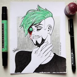 Jack with a Septic Eye by miaow
