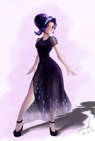 Starlight Glimmer in dress by The-Park