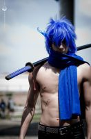 Kaito Black Rock Shooter by F0FF0