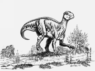 Iguanodon-bernissartensis'-A by aspidel