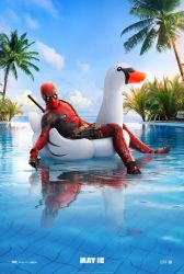 New Deadpool 2 Pool Party Poster by Artlover67