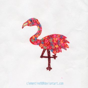 Pink Flamingo by Clementine98