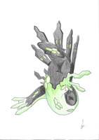 The mystery of Zygarde by TreyTheShiba