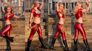Wonder Girl collage by AlisaKiss