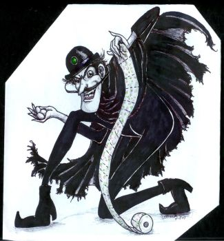 Beware the evil Bowler Hat Guy by Icequeenkitty