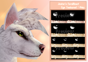 FeralHeart | Large Eye Texture Pack by TheJokingJester