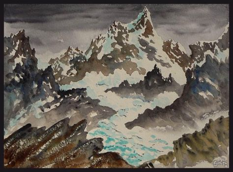 Nevermore Glacier by GwilymG