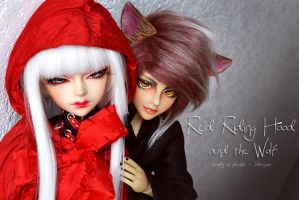 Red Riding Hood and the Wolf - 01 by prettyinplastic