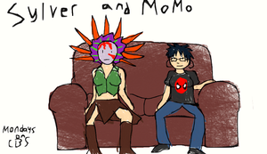 Sylver and MoMo by TrueSoprano