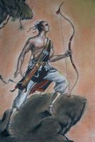 Chinese Warrior by wgoh1