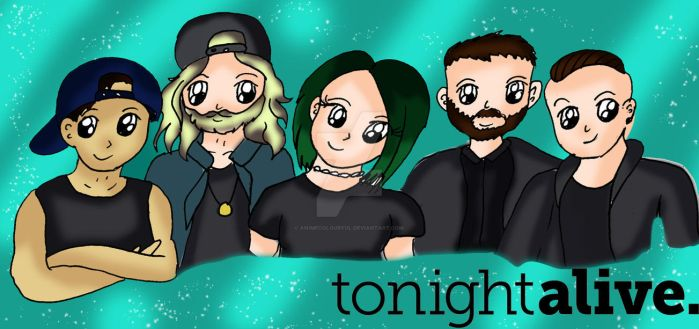 Tonight Alive by Animecolourful