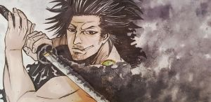 Black_Clover_Yami (speed paint in description) by AoraPL