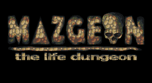 Game's title design - Mazgeon by dokitsu