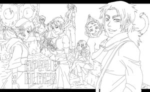 WhytManga Tournament 2013 round 1 [lineart] by Elbytron