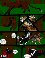 Wolf tracks page 140 by alicesapphriehail
