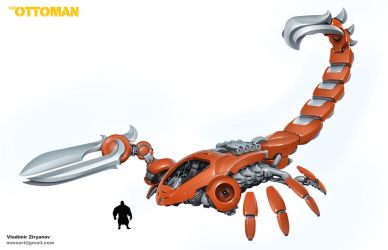 The Ottoman Red Scorpion by mmx-v