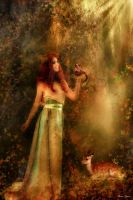 Goddess of the Forest by karzen1
