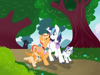 Contest: Family Stroll by Doodle-Mark