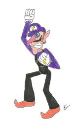 Waluigi because I can by BlackCarrot1129