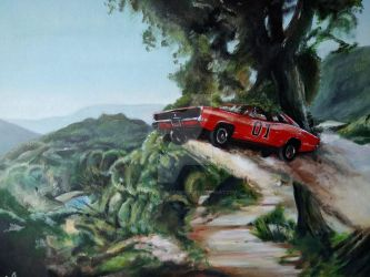General Lee by Tony-Lewis-artwork