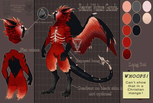 Design commission: Garuda custom by DeathKylin