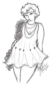 The Flapper by VintageArtMistress