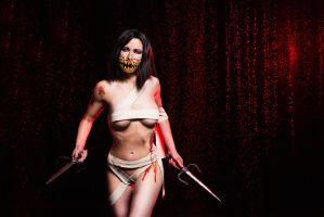 Mileena cosplay Mortal Kombat 9 by AsherWarr