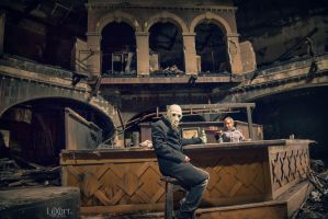 the last drink... by LexartPhotos