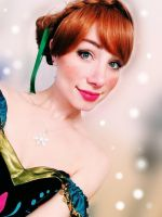 Frozen Anna Cosplay by Sarina-Rose