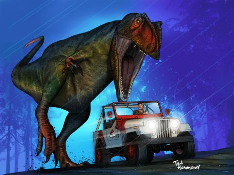 Jurassic Park by ted1air
