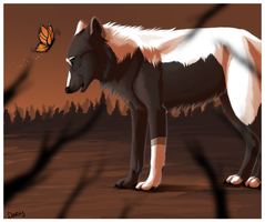 Autumn Monarch -AT- by Daesiy