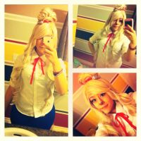 Animal crossing New Leaf Isabelle Cosplay by MrsBehrudy