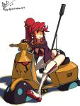 Yoko on a Vespa 02 by oh8