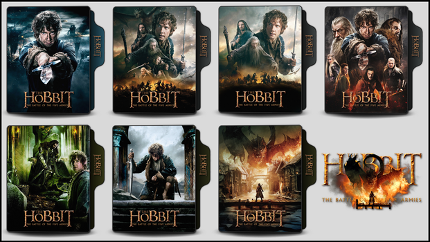 The Hobbit 3 (2014) Folder Icons by OnlyStyleMatters