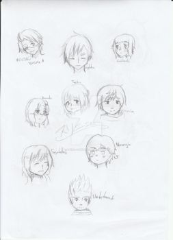 [APH] Trying styles (sketch) by Shiro-cchin